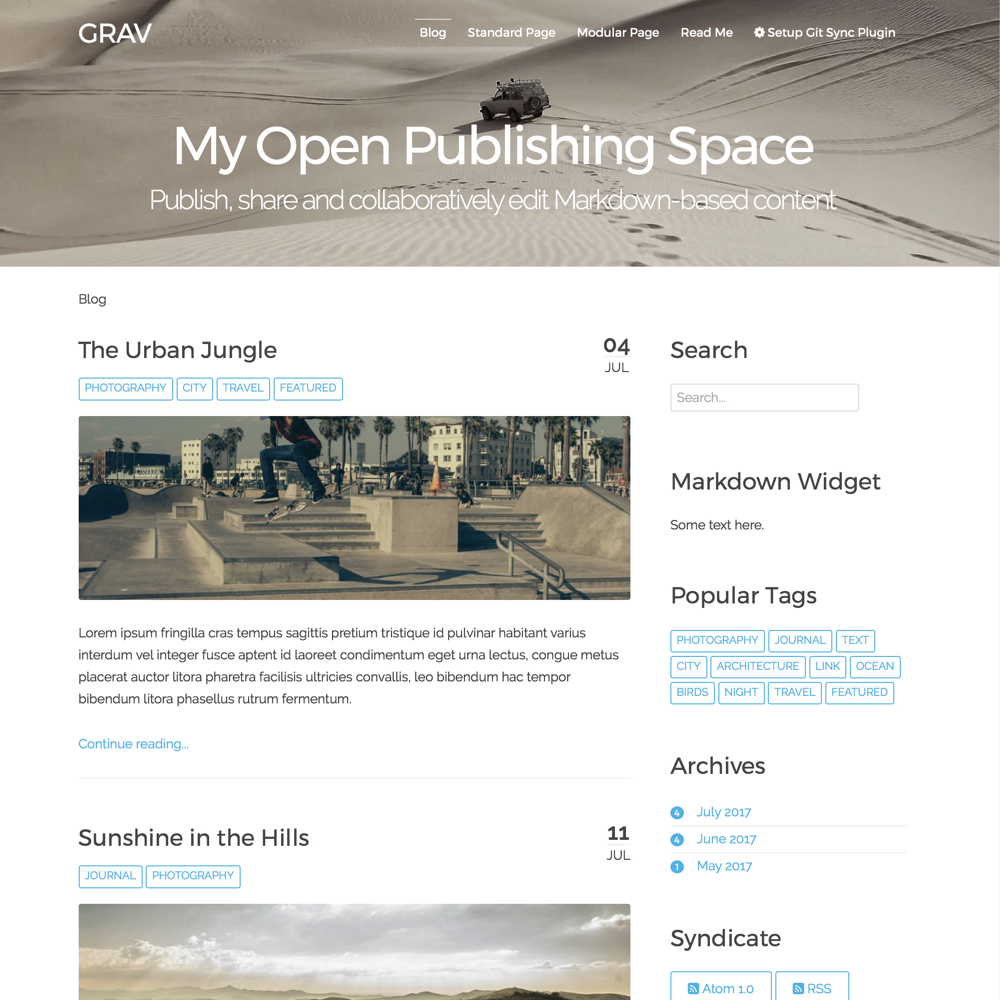 Open Publishing Space